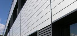 elewacja z użyciem paneli Omega