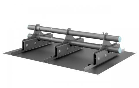 konstrukcja bariery przeciwśniegowej