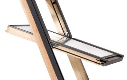 Nowoczesne okno drewniane