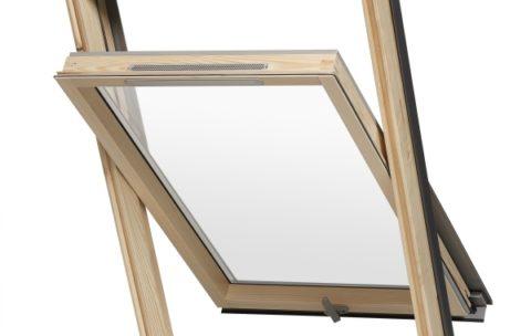 okno drewniane - Pruszyński