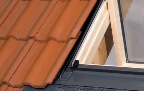 okno dachowe- kołnierz