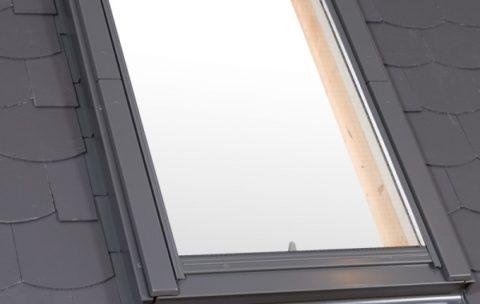 Kołnierz do okien do płaskich pokryć dachowych o grubości 0-16 mm